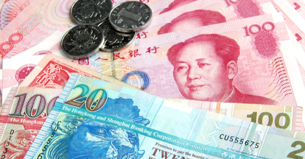 Yuan and Hong Kong Dollars