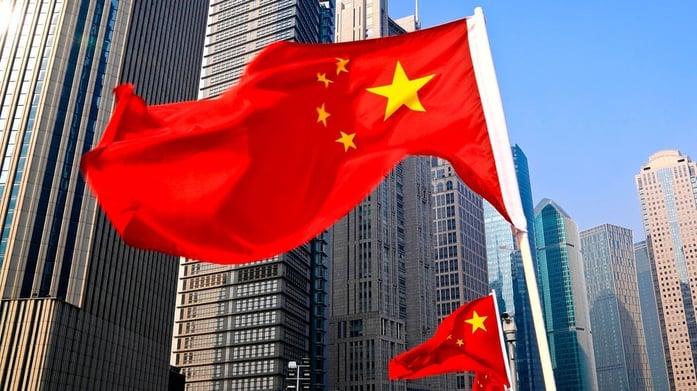 China flag foreign work visa