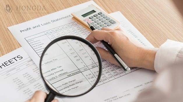 Annual china accounts audit 5 tasks