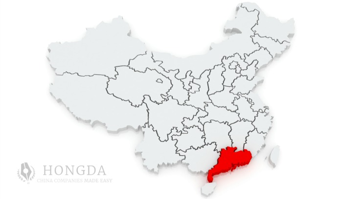 Hongda's BIG 5 cities for business in China's GPRD region
