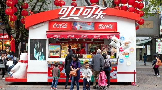 coke trademarks in china