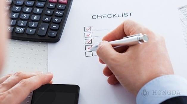 hongda wfoe checklist